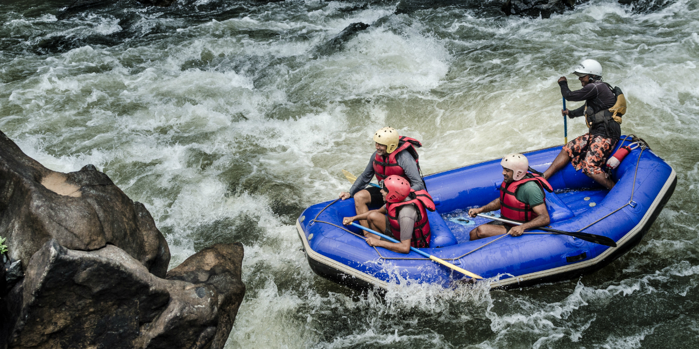 White Water Rafting on Mhadei River