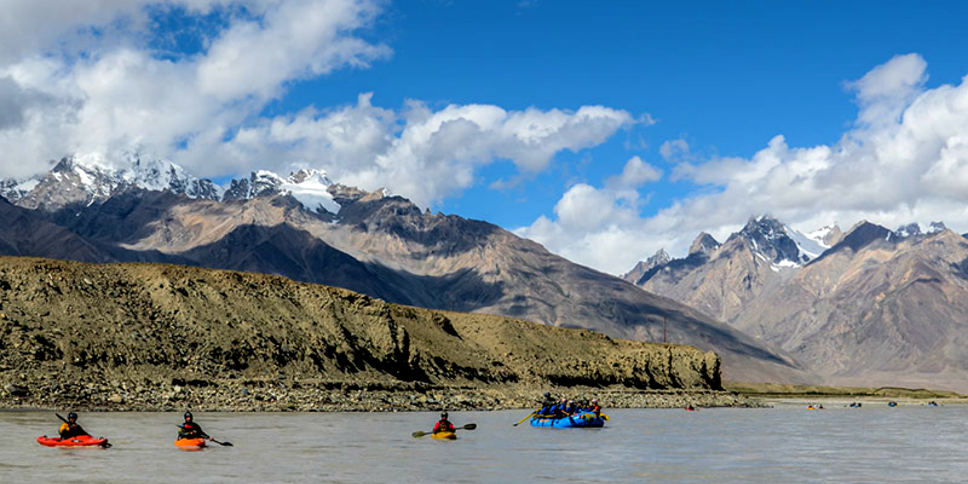 The Zanskar River Rafting Expedition